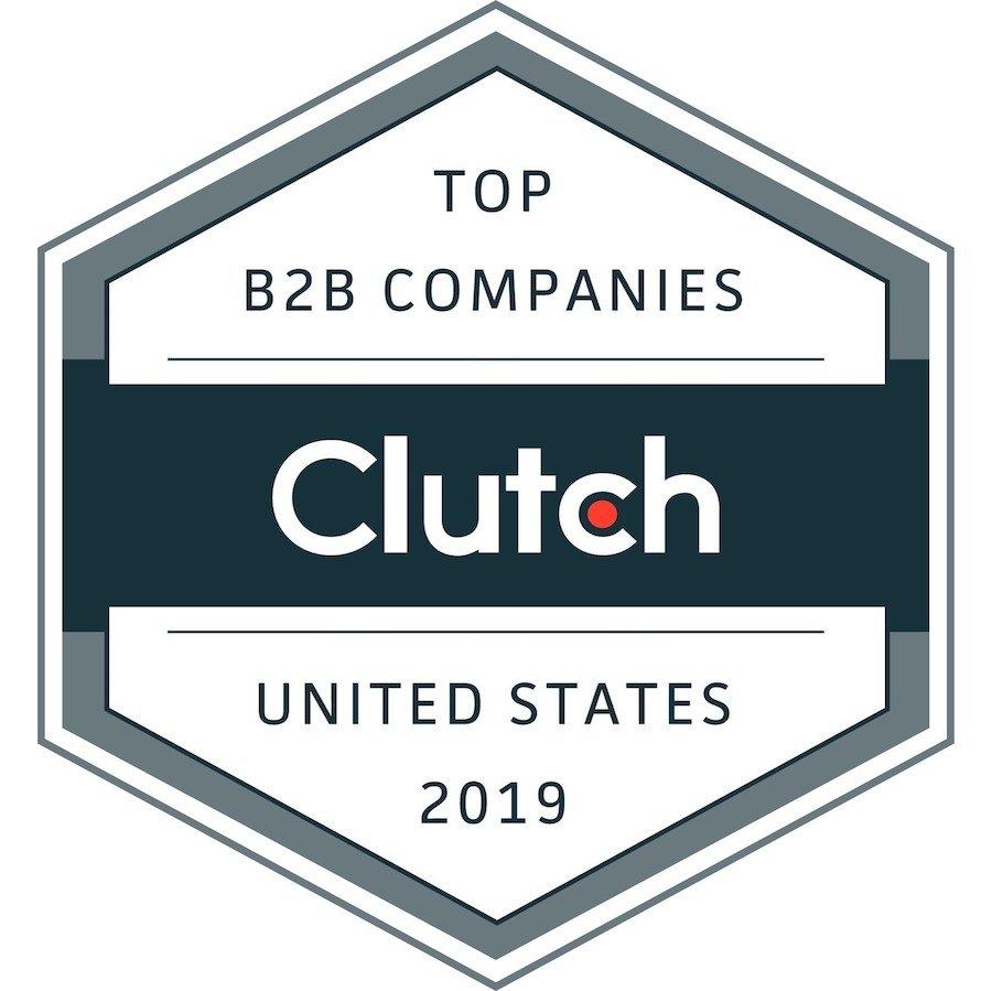 Clutch Award - Top B2B Companies